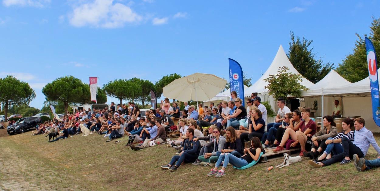 Le public est venu en nombre admirer le spectacle du Grand Prix Pro 1 où les obstacles culminaient à1 mètre 40 !