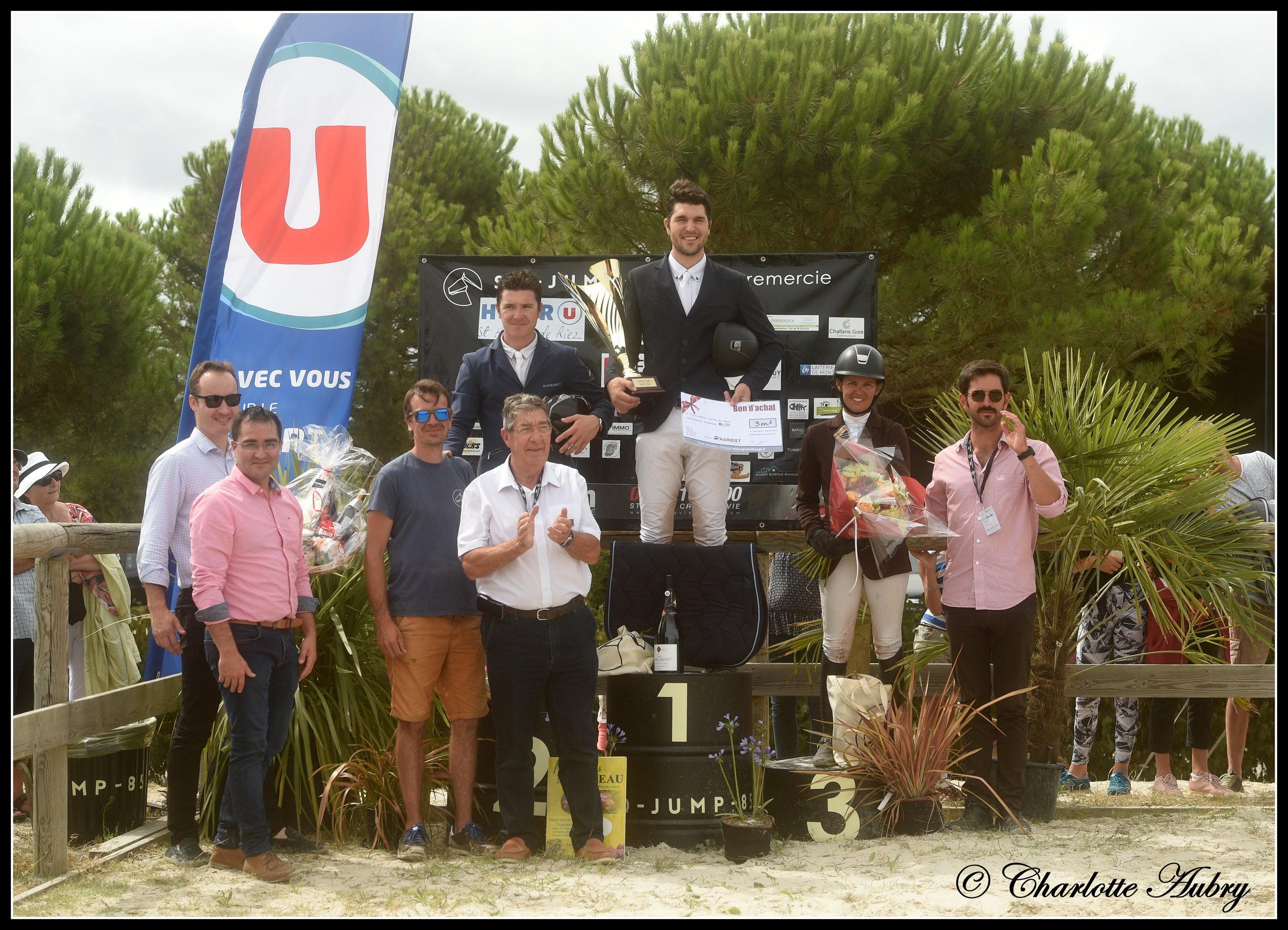 Charles Hubert-Chiché vainqueur du Grand Prix 140 de l'édition 2018