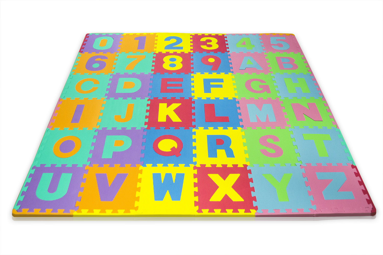 Matney Foam Mat Of Alphabet And Number