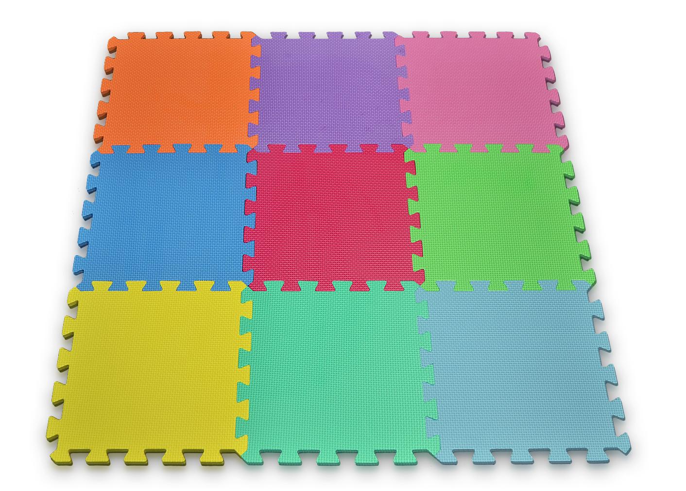Foam Mat Puzzle Pieces Play Set
