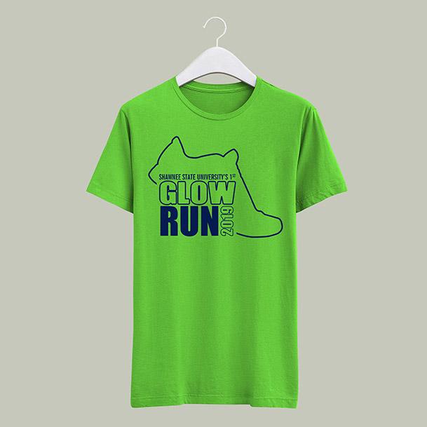 Glow Run T-shirt - $10
