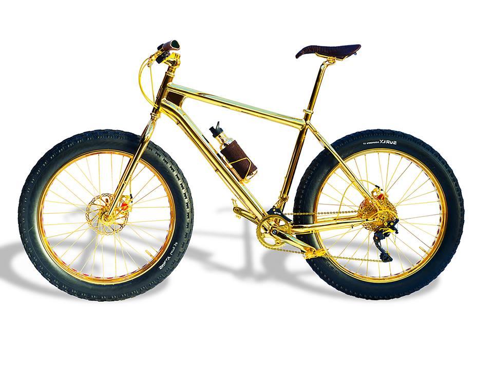 24k Gold Extreme Mountain Bike - $ 1.000.000,00