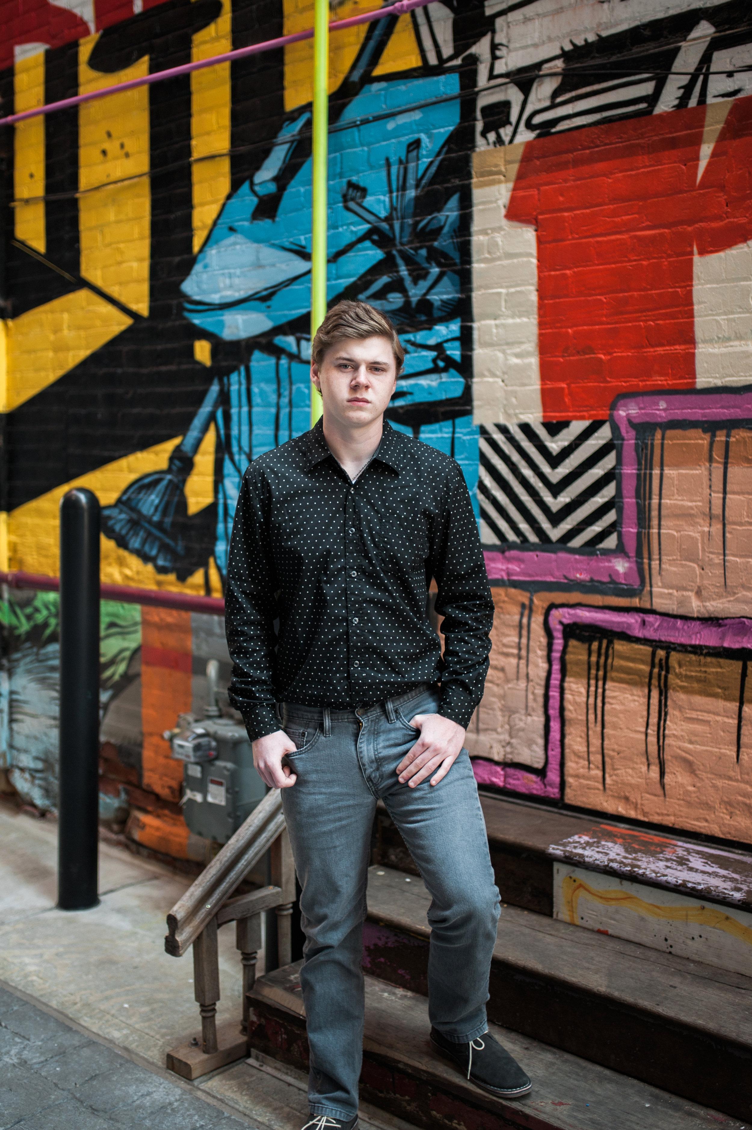 Graffiti Senior pictures