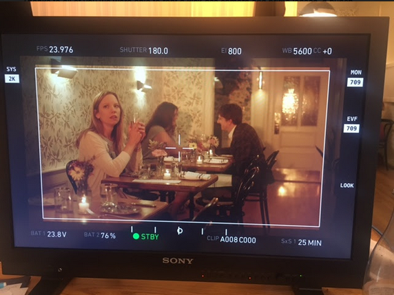 """Just wrapped a short film called """"e.ro.sion, noun"""", written and directed by Catriona Stevens, about the struggle to heal after heartbreak. SUCH A WONDERFUL EXPERIENCE,WITH A TALENTED FEMALE LEAD TEAM!"""
