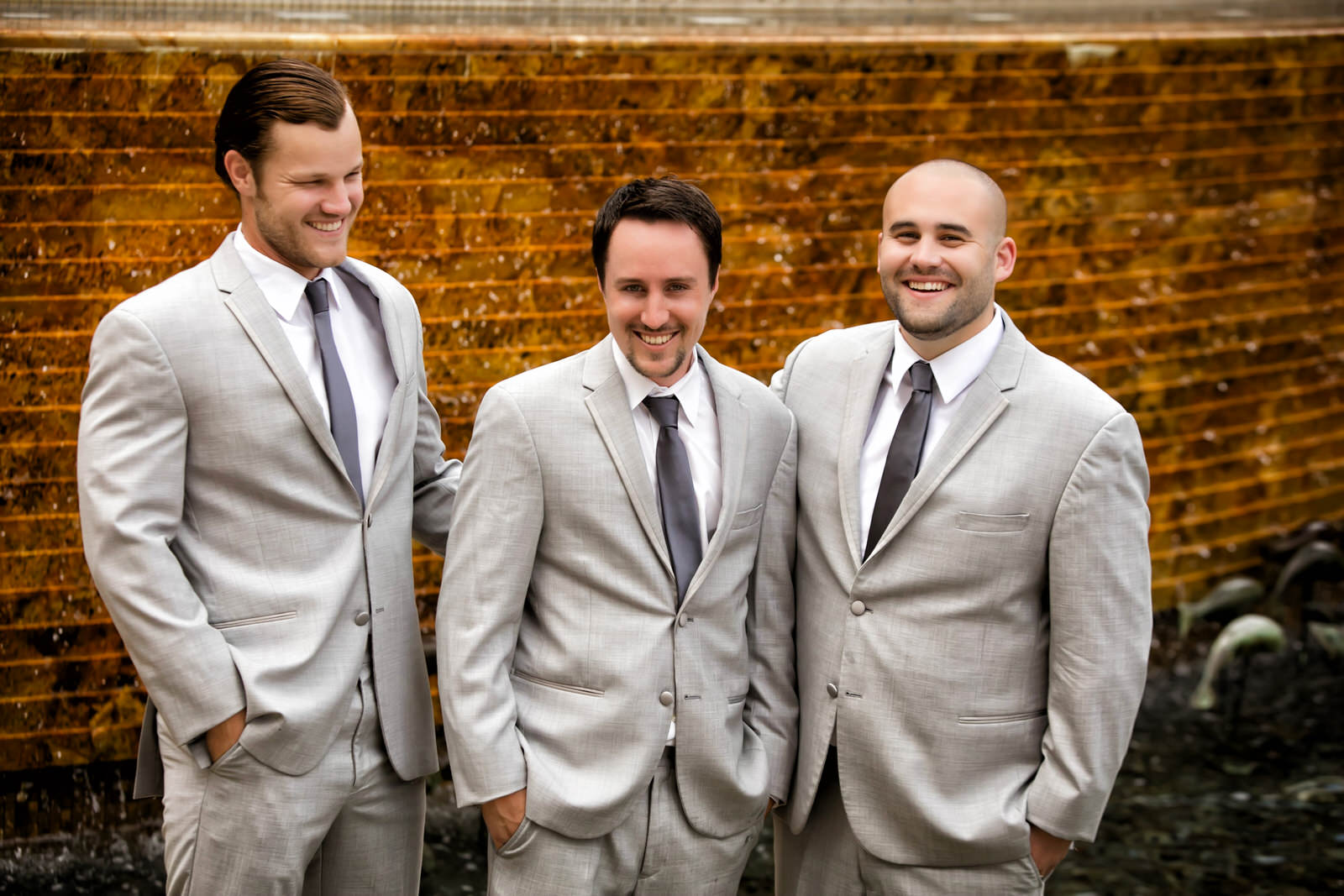 Cheerful Groomsmen