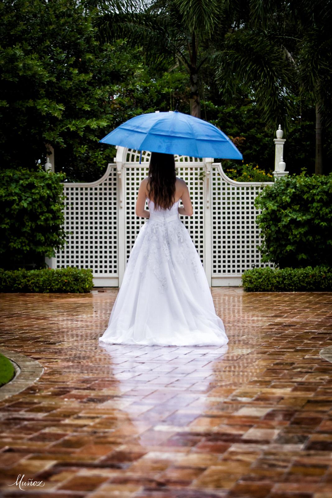Rain and Something Blue