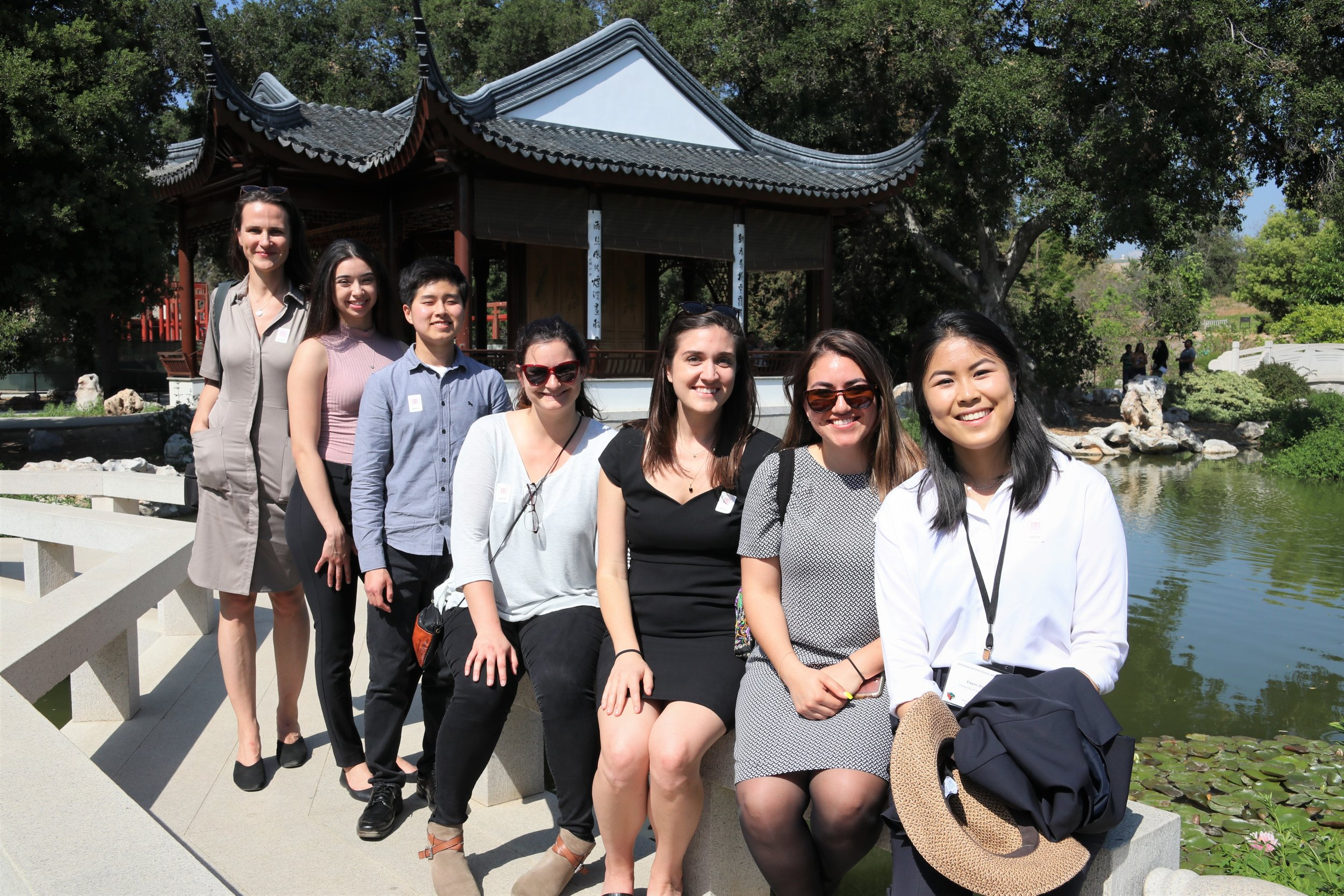KIND Lab visits the Huntington Gardens following a successful 2019 WPA conference in Pasadena.