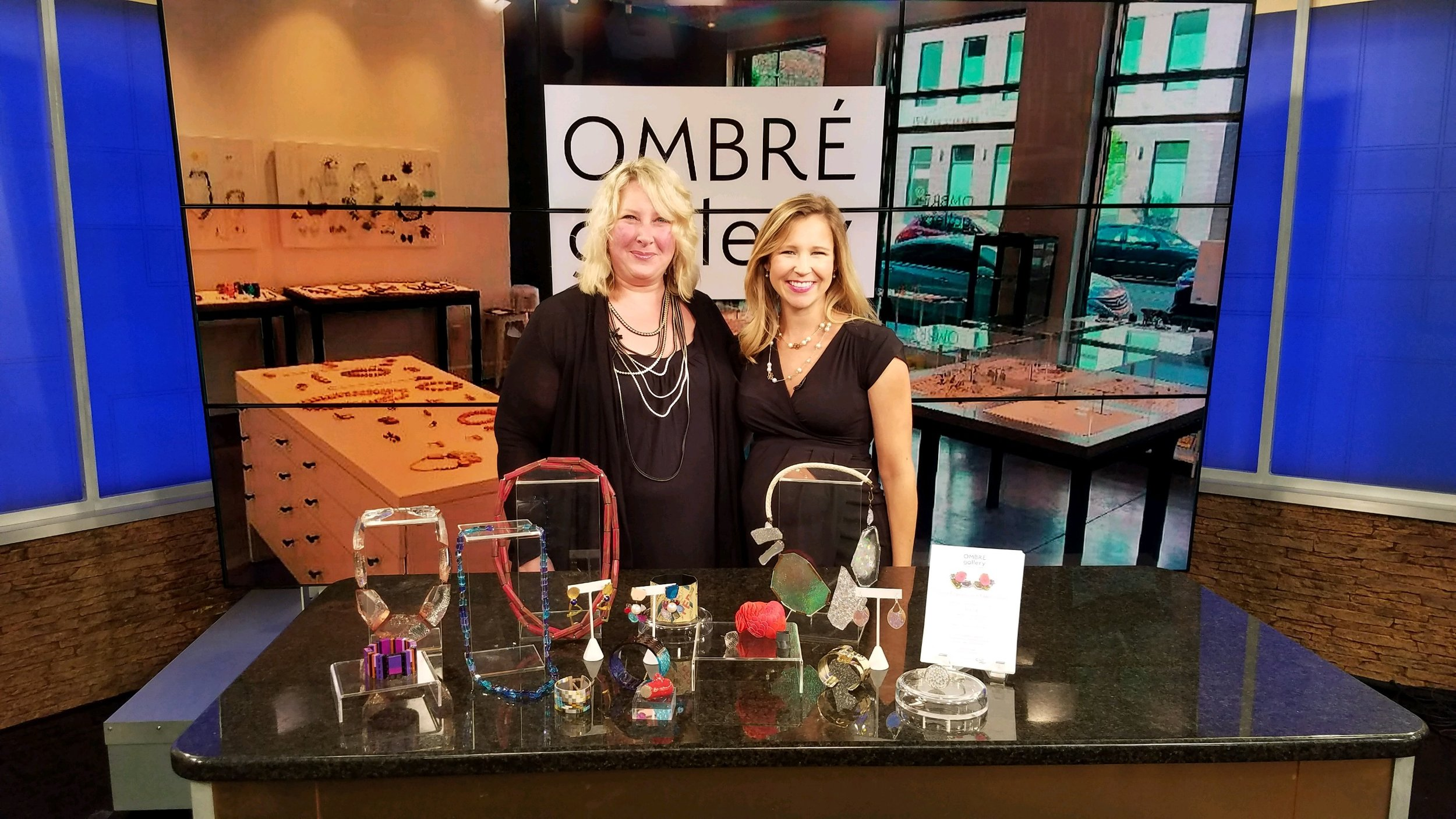 Ombré Gallery on Fox19, September 12, 2018
