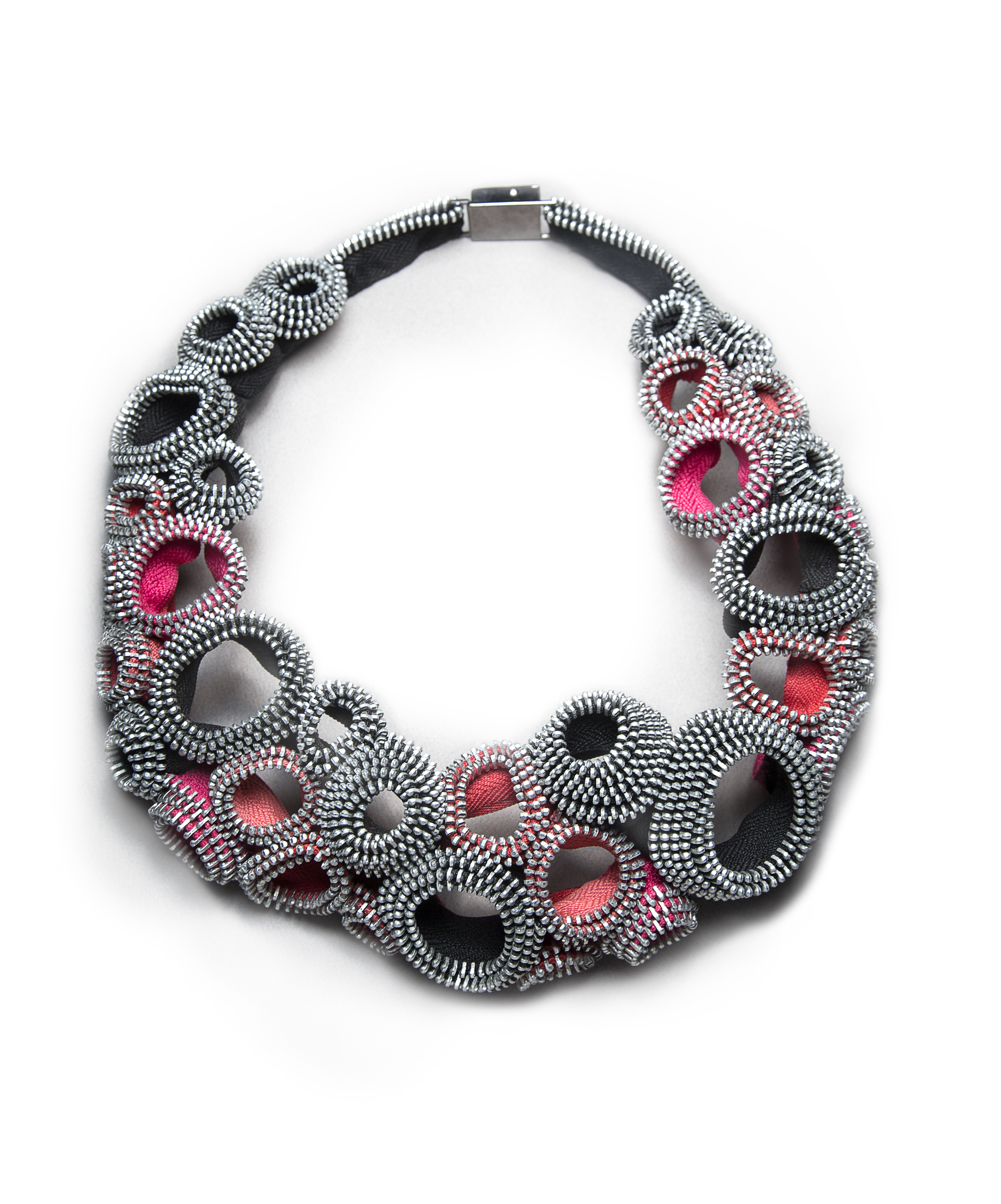 Kate Cusack,  Pink Bubbles XXIV Necklace