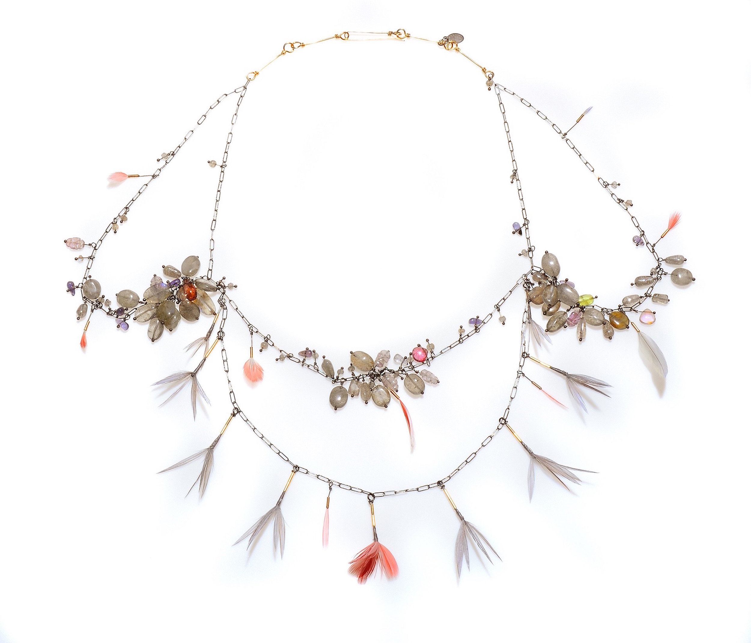 Gabrielle Gould,  Links of Troy Necklace