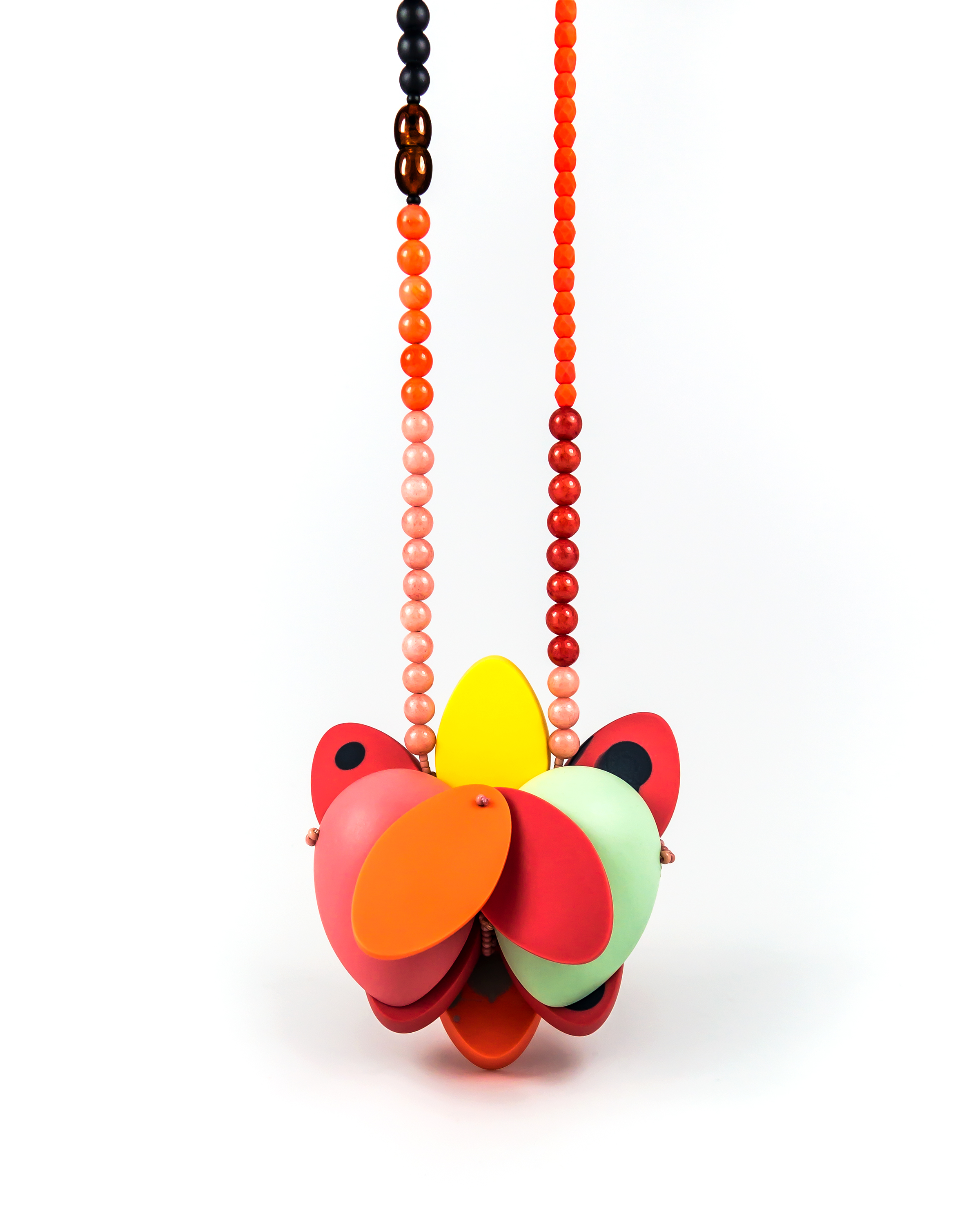 Mia Kwon,  Red Necklace