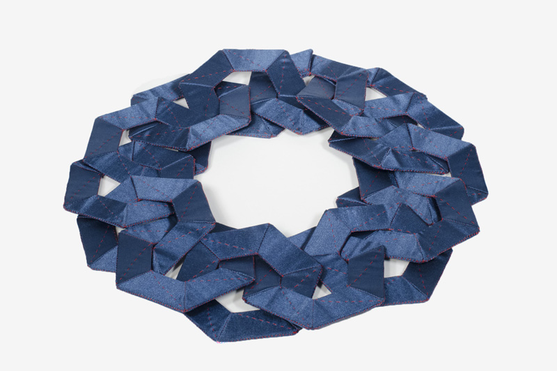 Louise Perrone,  Satin Sheets Necklace