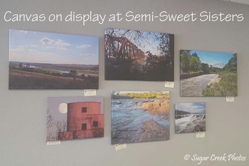 Semi-Sweet sisters canvas on display.jpg