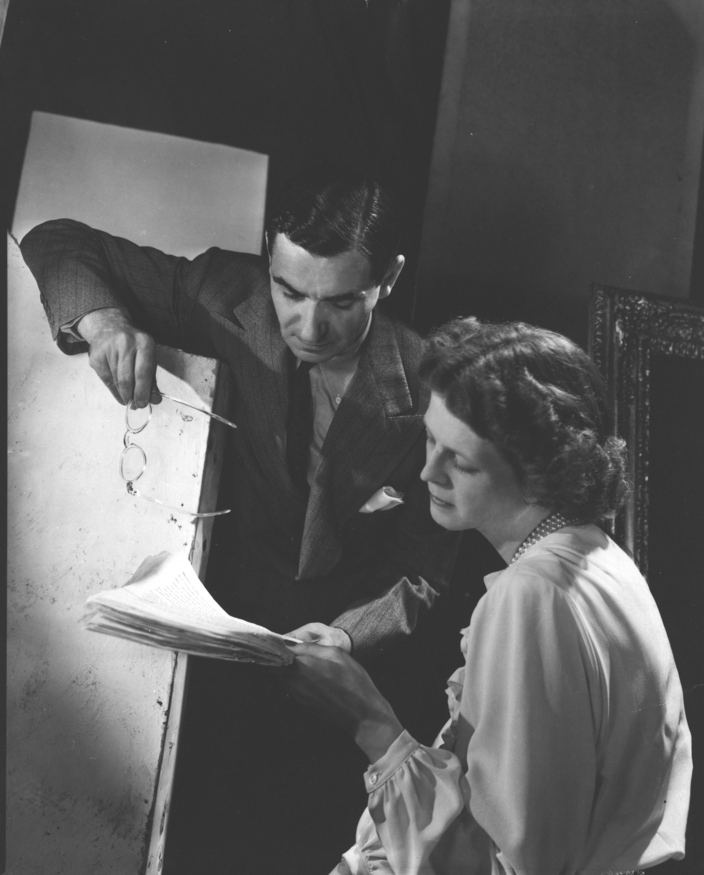Irving Berlin and his wife Ellin Mackay