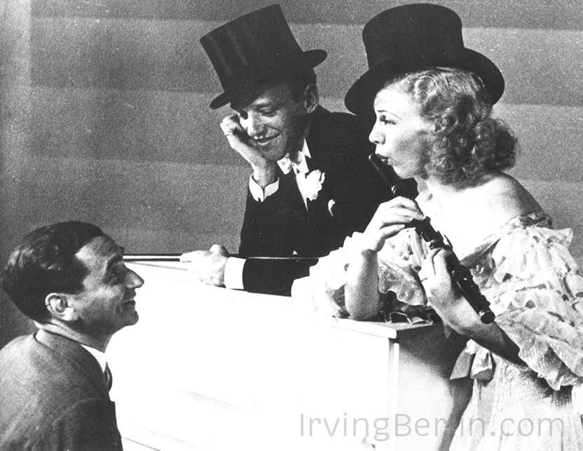 Irving Berlin with Fred Astaire and Ginger Rogers