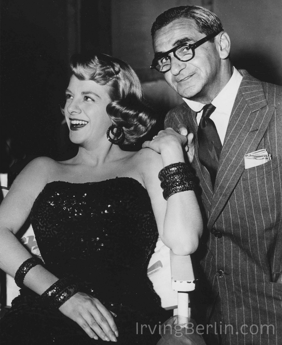 Irving Berlin with Rosemary Clooney