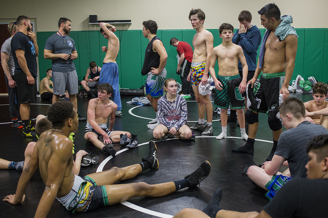 Images from my story for ESPN about the growth of high school women's wrestling in North Carolina.  http://www.espn.com/high-school/story/_/id/26438471/why-girls-high-school-wrestling-rise