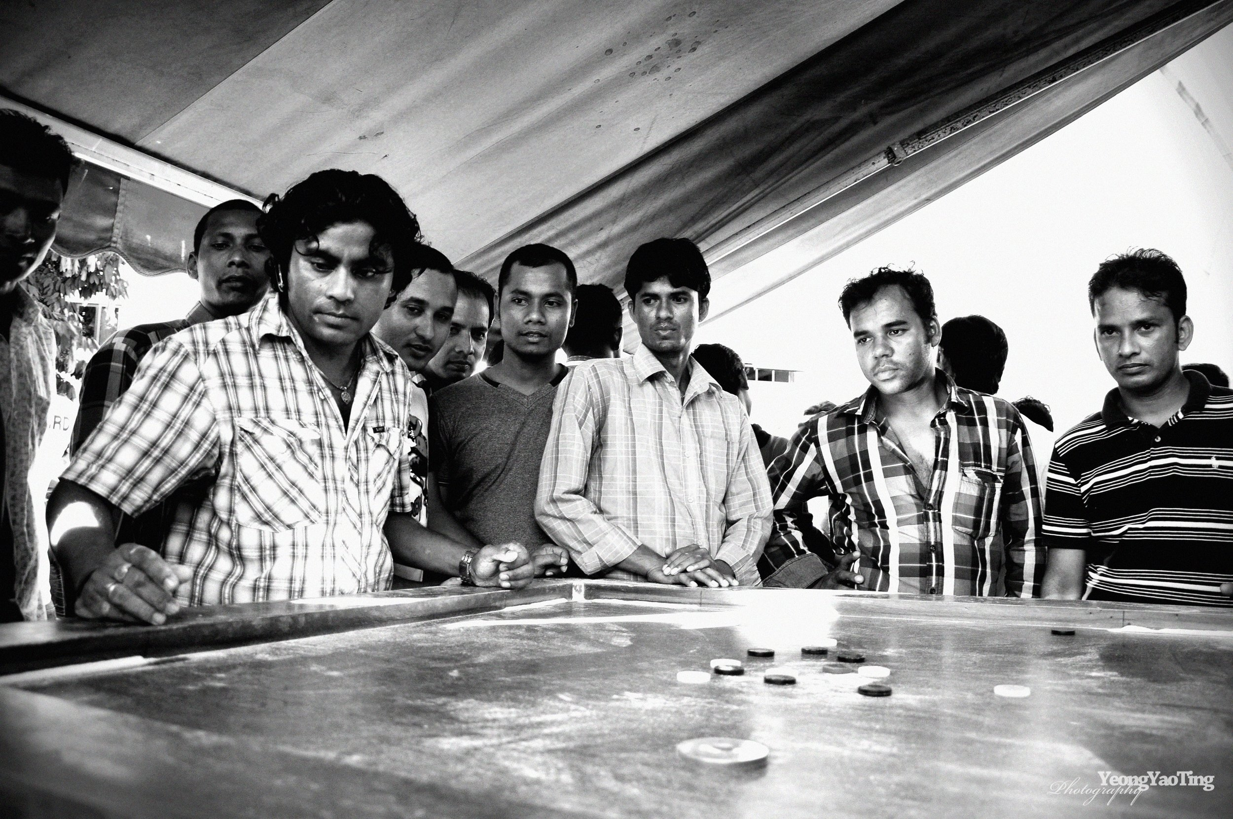 A Game Of Carrom
