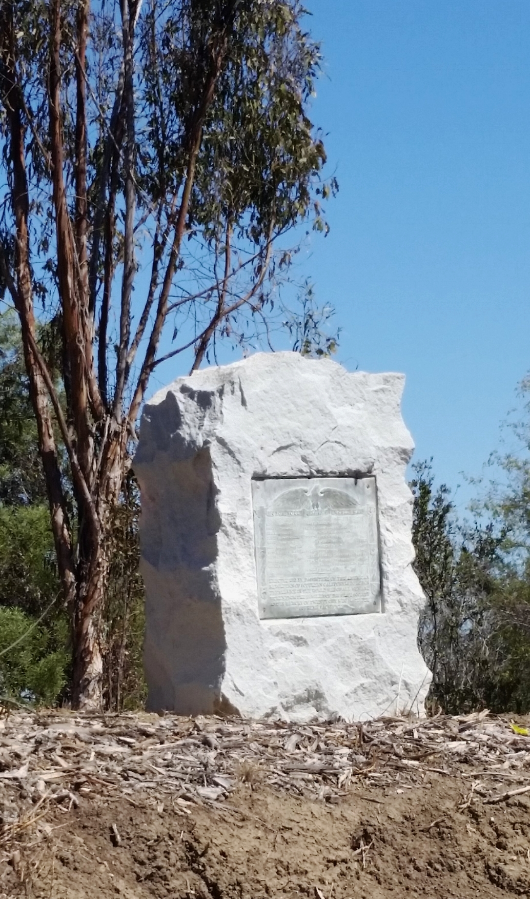 The WWI memorial at Elysian Park in Los Angeles needs a facelift