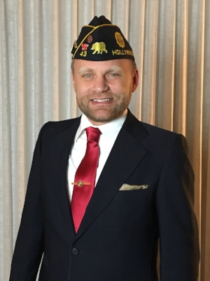 Michael Hjelmstad, 2nd Vice Commander, Post 43
