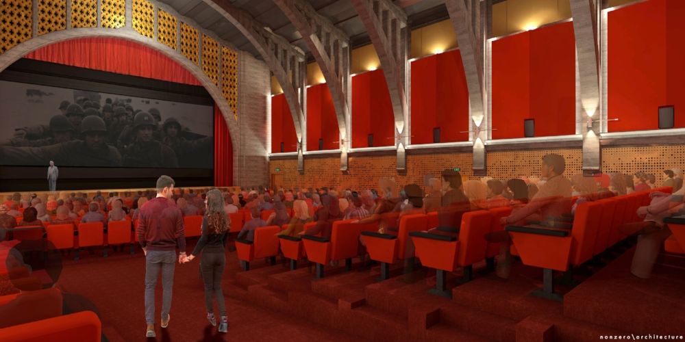 Renderings were unveiled last week for the new Hollywood Legion Theater renovation underway at Post 43. For updates, follow the  Legion Theater Facebook page .  TAKE A SEAT.    We need your continued support to make this project a reality. If you haven't yet, please join your fellow Legionnaires who have chipped in and purchase a seat in your name or to honor the memory of a loved one. Veterans save $500!  For more information on the TAKE A SEAT campaign, visit    LegionTheater.org    or email our project manager, Bill Steele at   wbondsteele@gmail.com  .