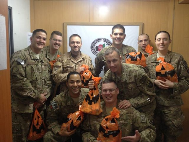 HAPPY HALLOWEEN TO ALL OUR DEPLOYED SERVICEMEMBERS!