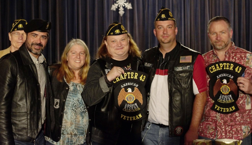 "Our new American Legion Riders Chapter 43 continues to grow under the leadership of chapter president, Ronnie Womble. The riders have ""patched-in"" more than 10 members and growing. For more information on the riders and to find out how to join, click  HERE ."