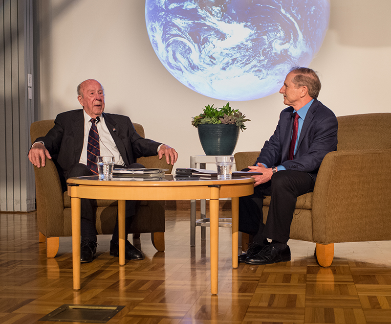 George Shultz on carbon tax, April 2017 Lecture