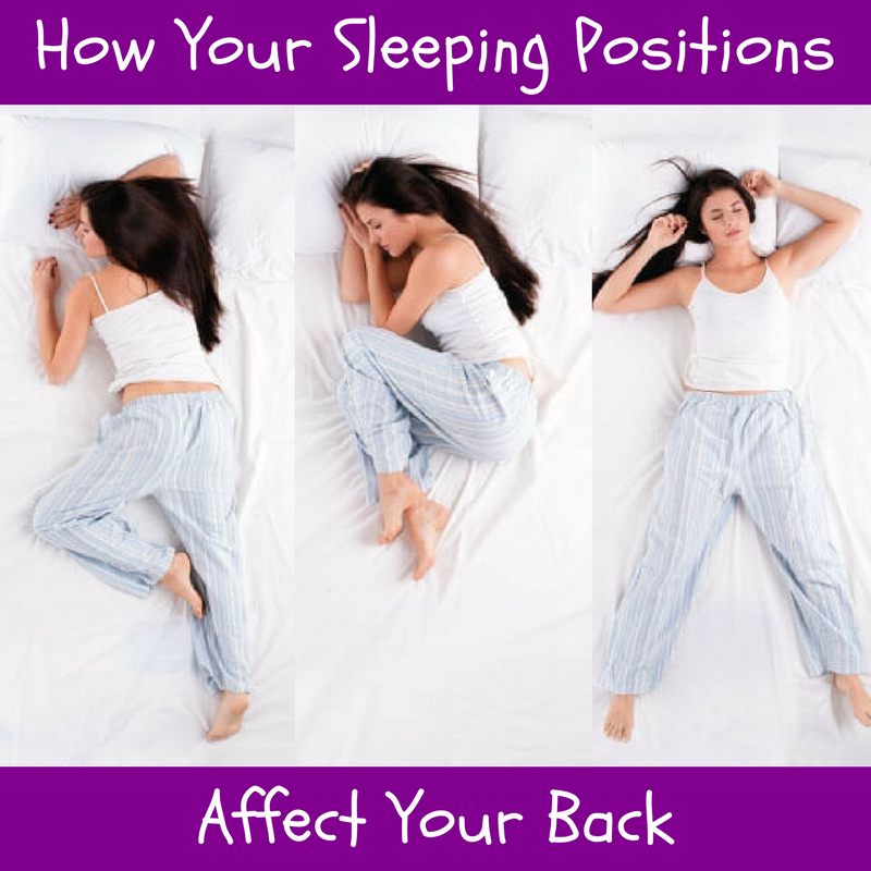 How Your Sleeping Positions Affect Your Back Williamsburg Chiropractic Best Chiropractor Nyc