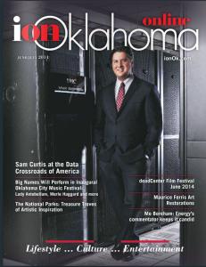 AtLink CEO, Samual Curtis, ion Oklahoma Magazine