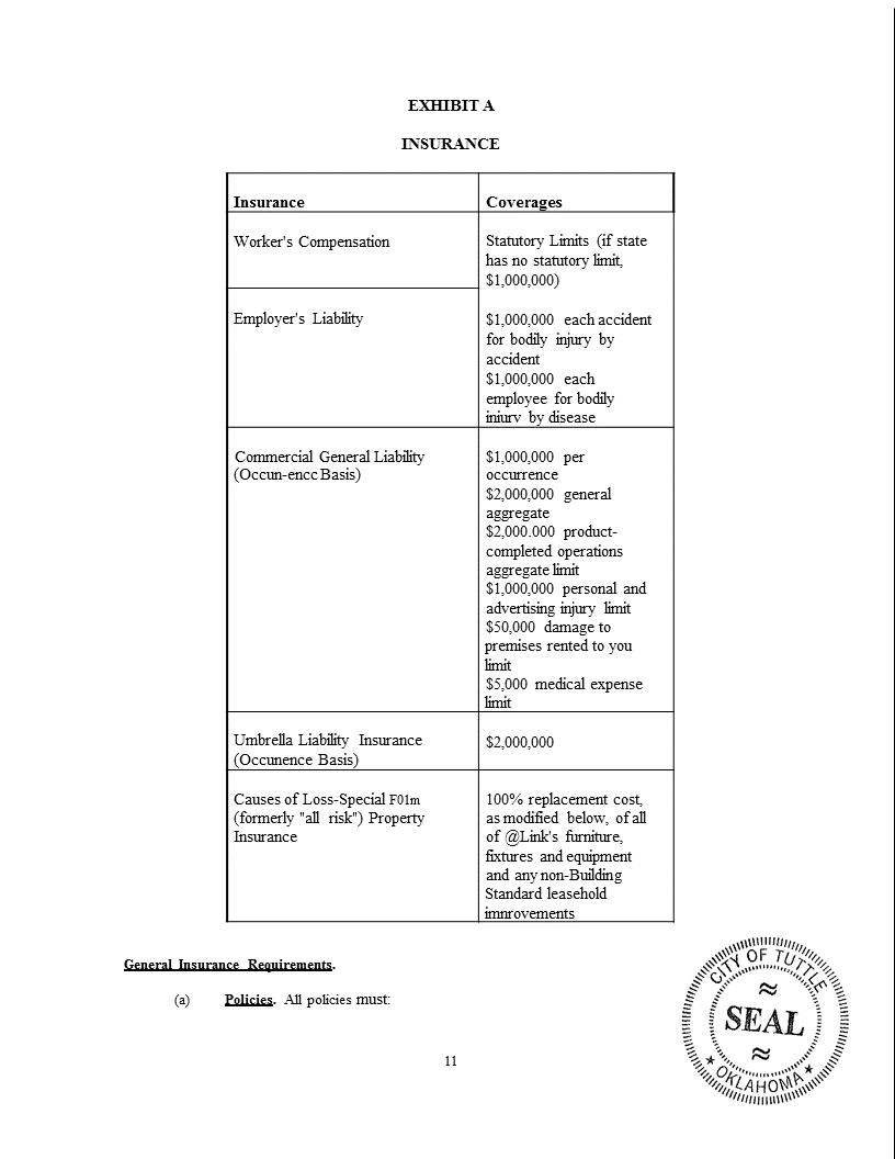 Wireless Internet Franchise Agreement 11