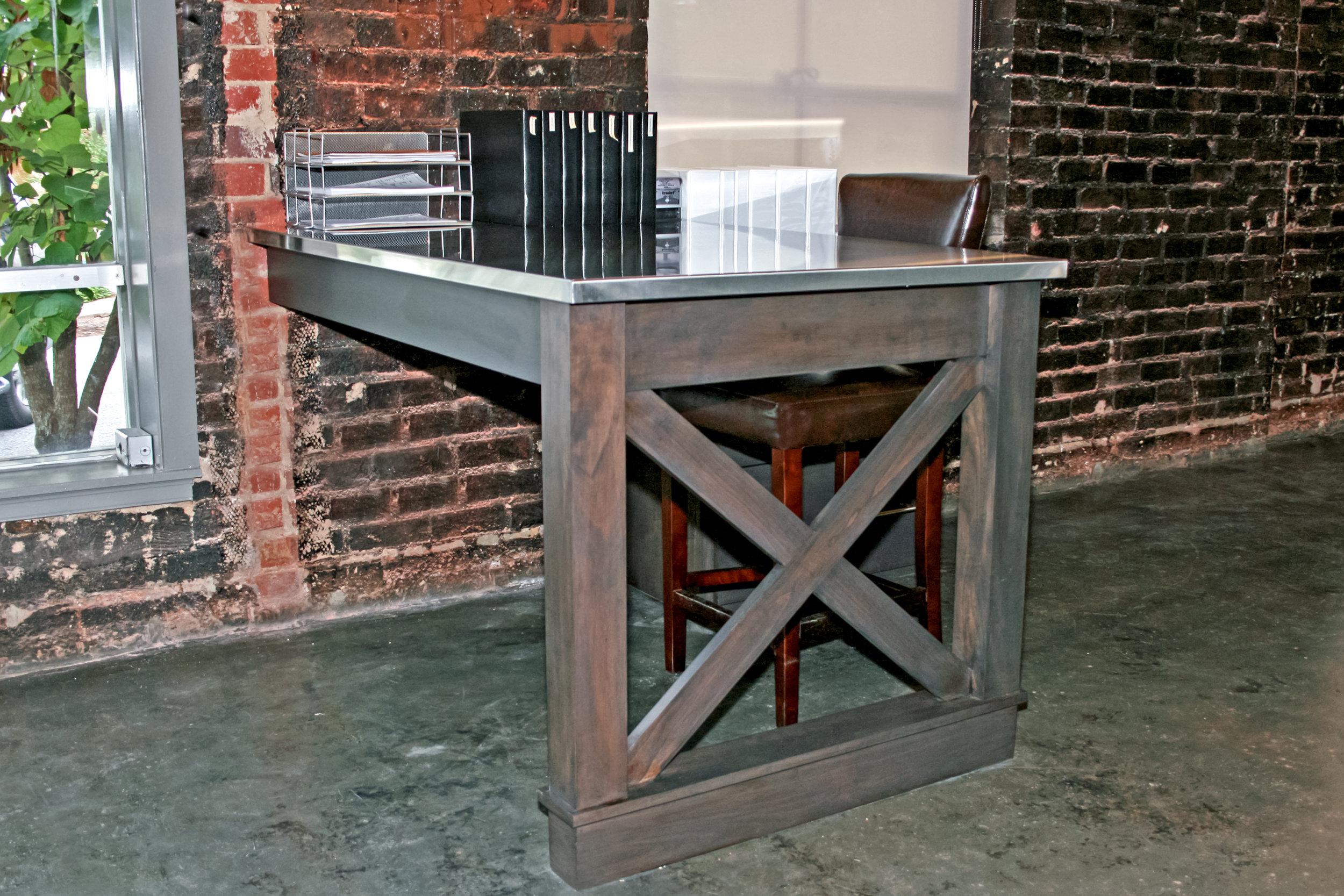 Custom Office Desk &   Kitchennette