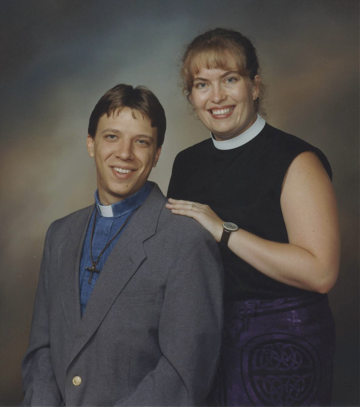 The Rev. Jira Albers (and Randele Albers)