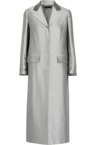 THE ROW Muedi wool-blend satin coat.jpg