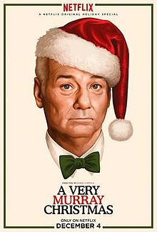 A Very Murray Christmas - We love Bill Murray--that's all there is to it! We also wish that life was one big musical where we all just break out in song. Bill Murray plays Bill Murray,George Clooney pops his head in, and bonus--Miley Cyrus sings Silent Night with those amazing pipes!