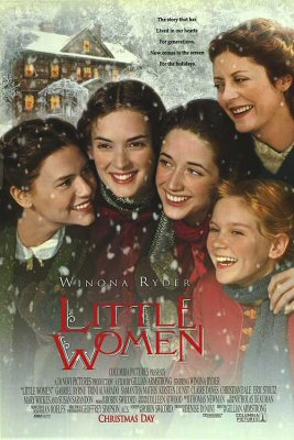 Little Women - We love the four March sisters! This is Winona Ryder at her finest. A great depiction of strong females doing it for themselves. True Haute Shot Cool girls!
