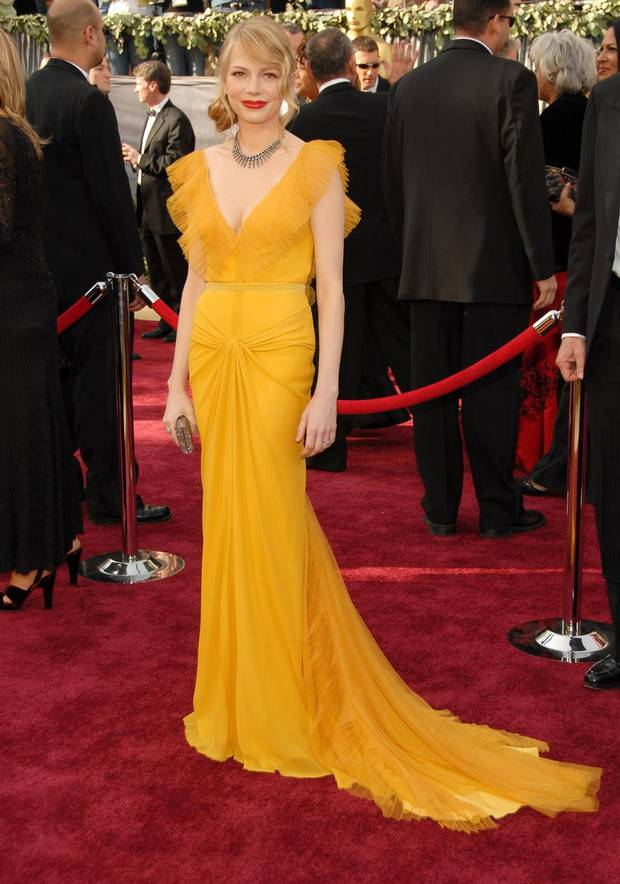 Michelle Williams - 2006 in Vera Wang