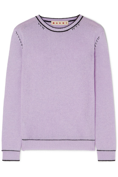 Summer Nights - Marni's Cashmere sweater is great for travel or for those cool Summer evenings!