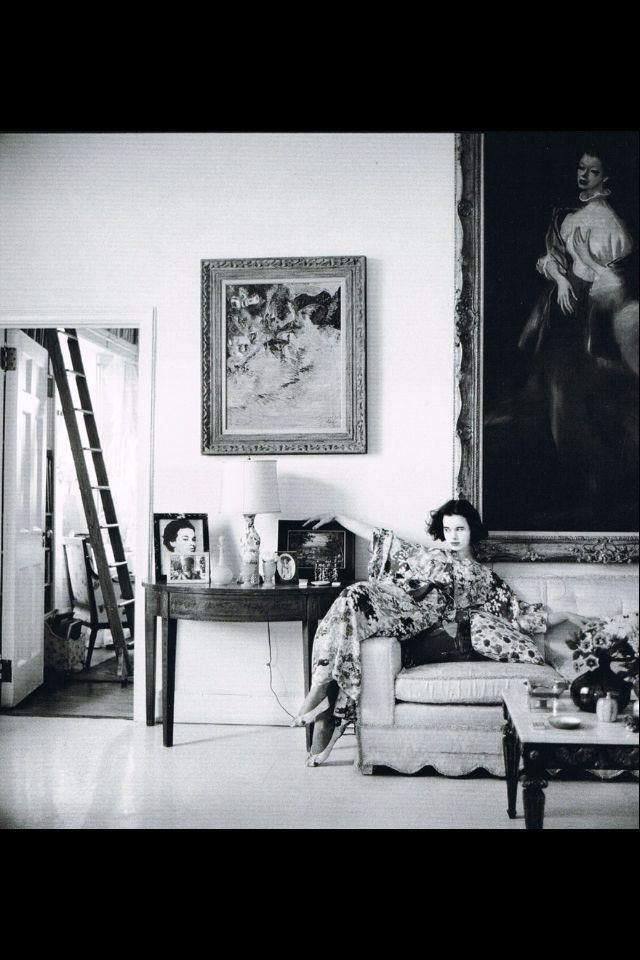 c.1956 - Vanderbilt at home by Richard Avedon