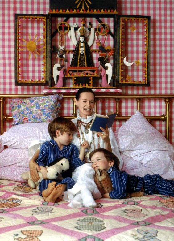 c.1975 - McCalls debuts Vanderbilt's magazine, called Gloria Vanderbilt Designs for Your Home.
