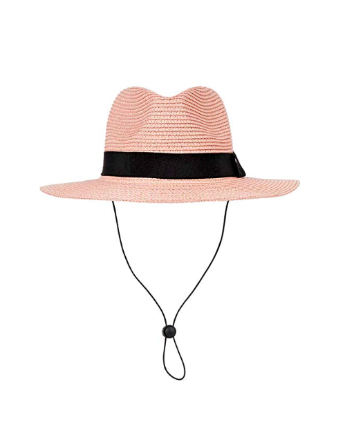 B.J Classic Hat - Blush Panama Straw Hat