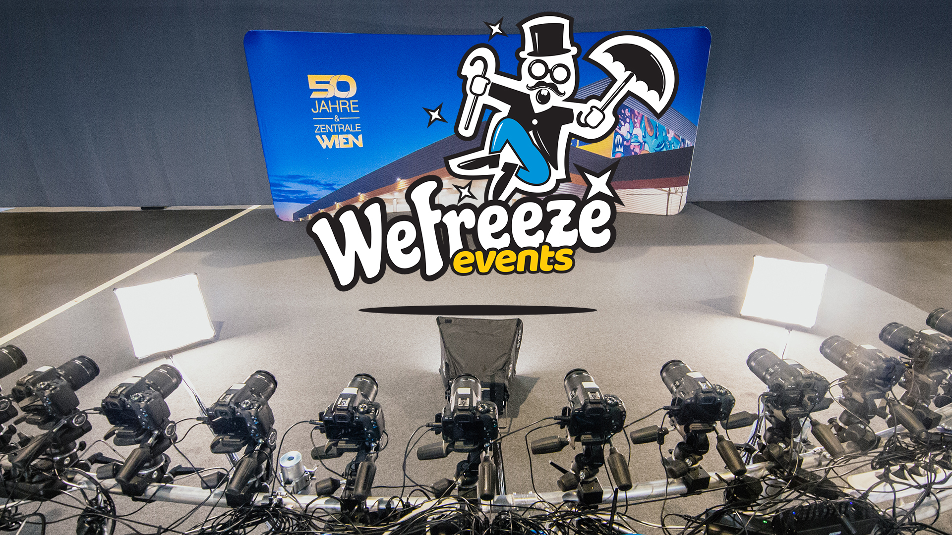 Wefreeze Event Flamingosystem