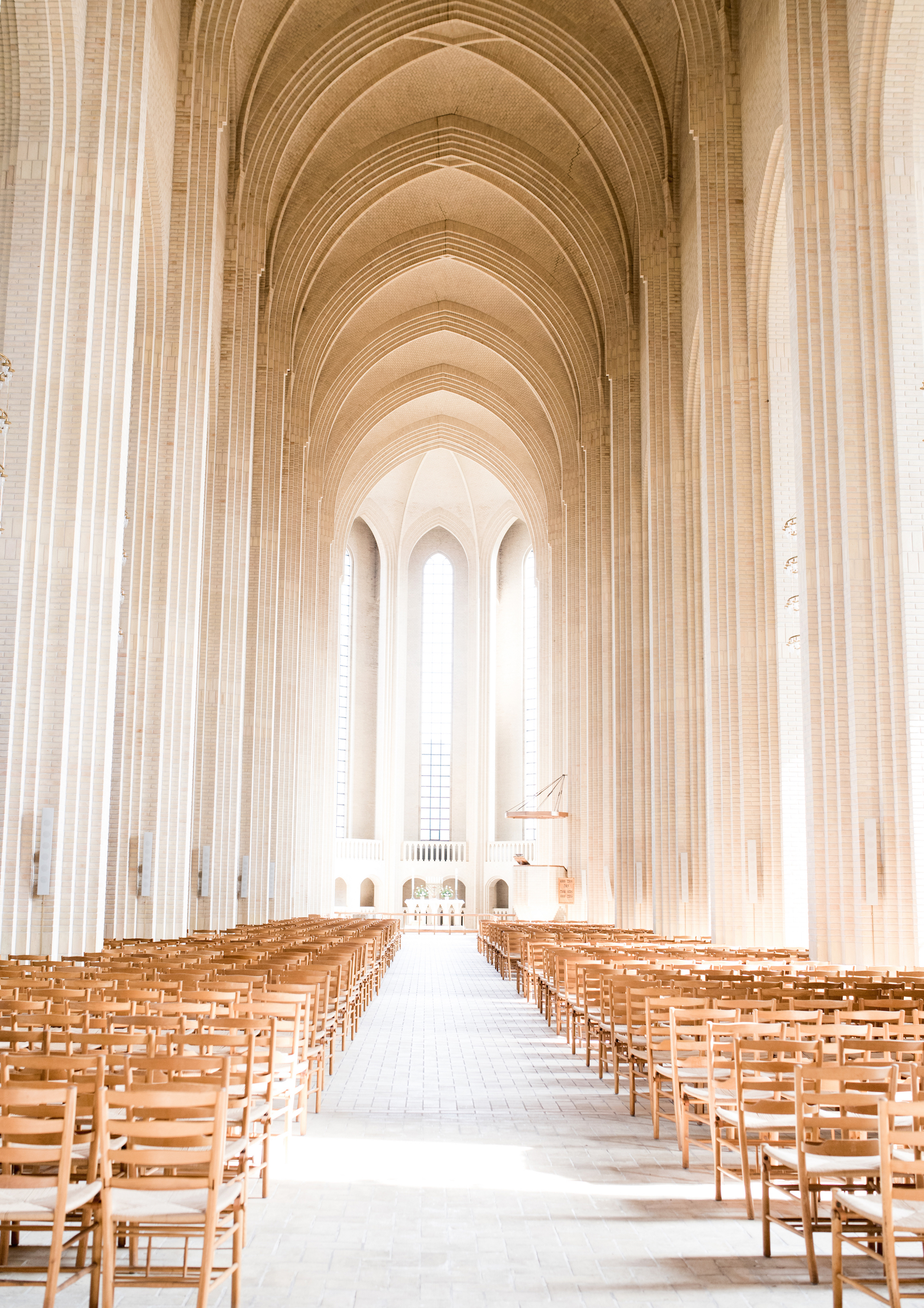 Grundtvigs Church 2016, Copenhagen. Photography by Valentina Fussell