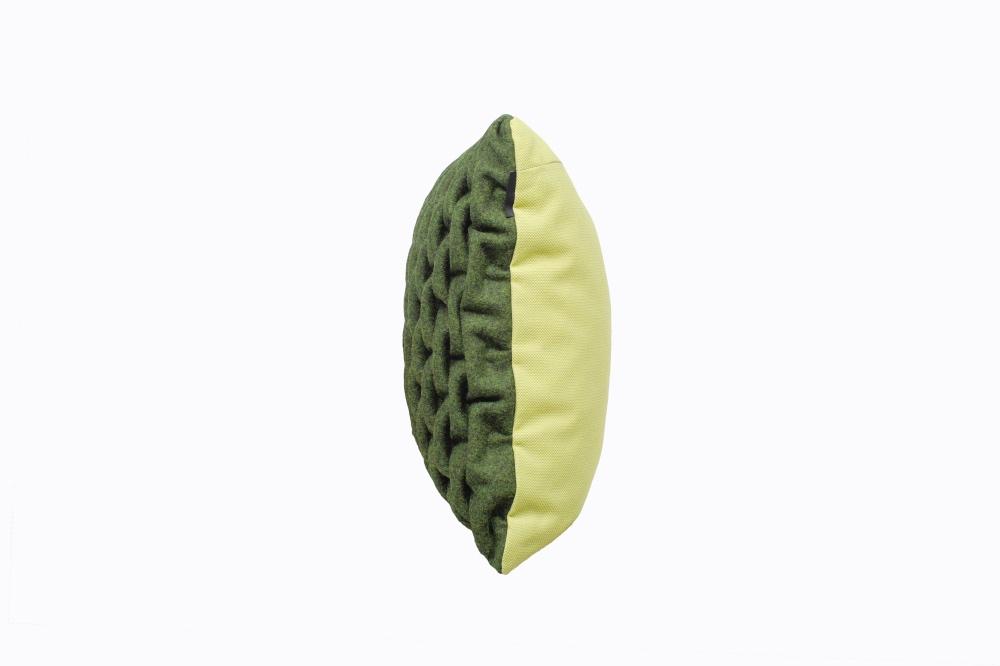 SMOCK - Cushion : Green/Green 4