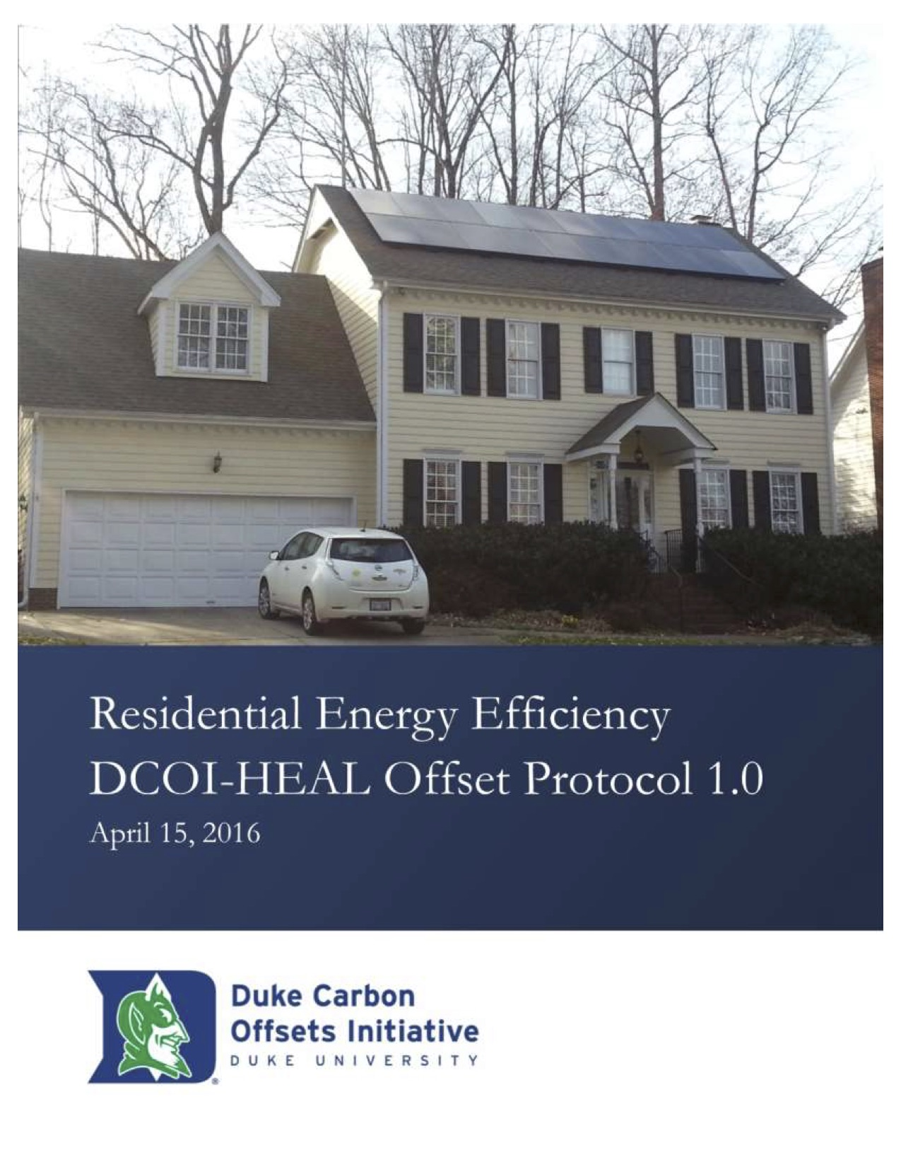 Residential Energy Efficiency Protocol