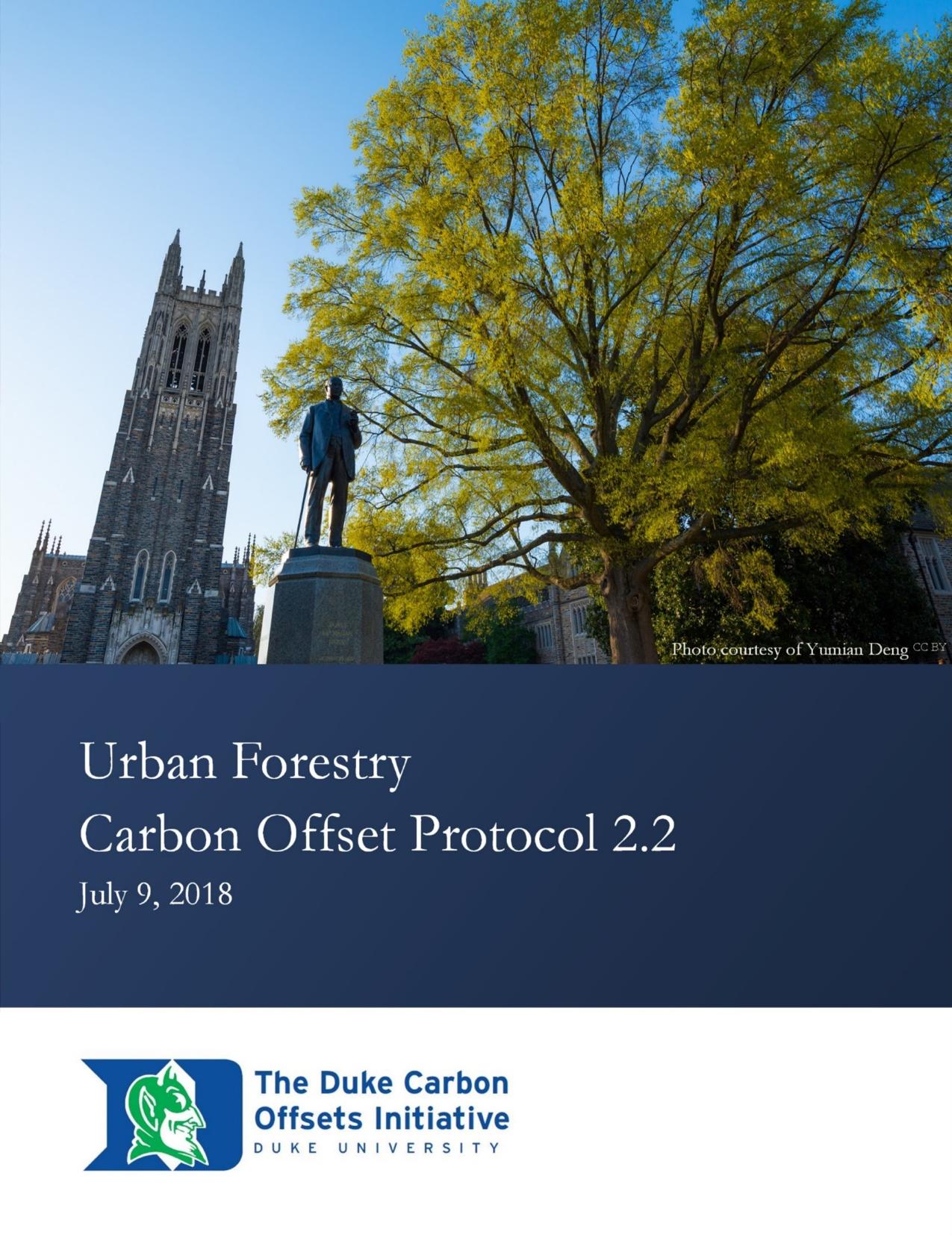 Urban Forestry Protocol