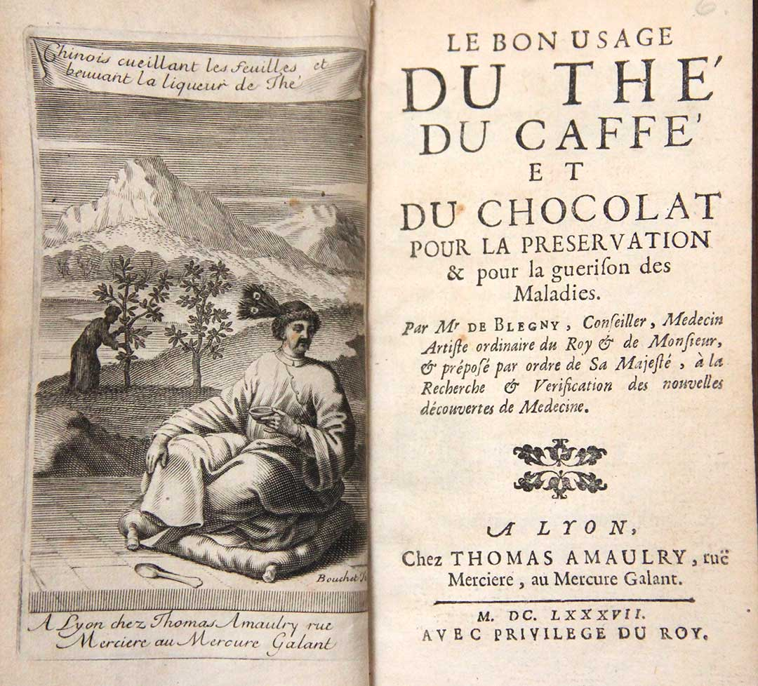 """""""For a century to come, it is perhaps more than probable, that the people of this country will, for one meal at least, make use of Tea, Coffee, or Chocolate..."""" —Dr. John Fothergill's letter"""