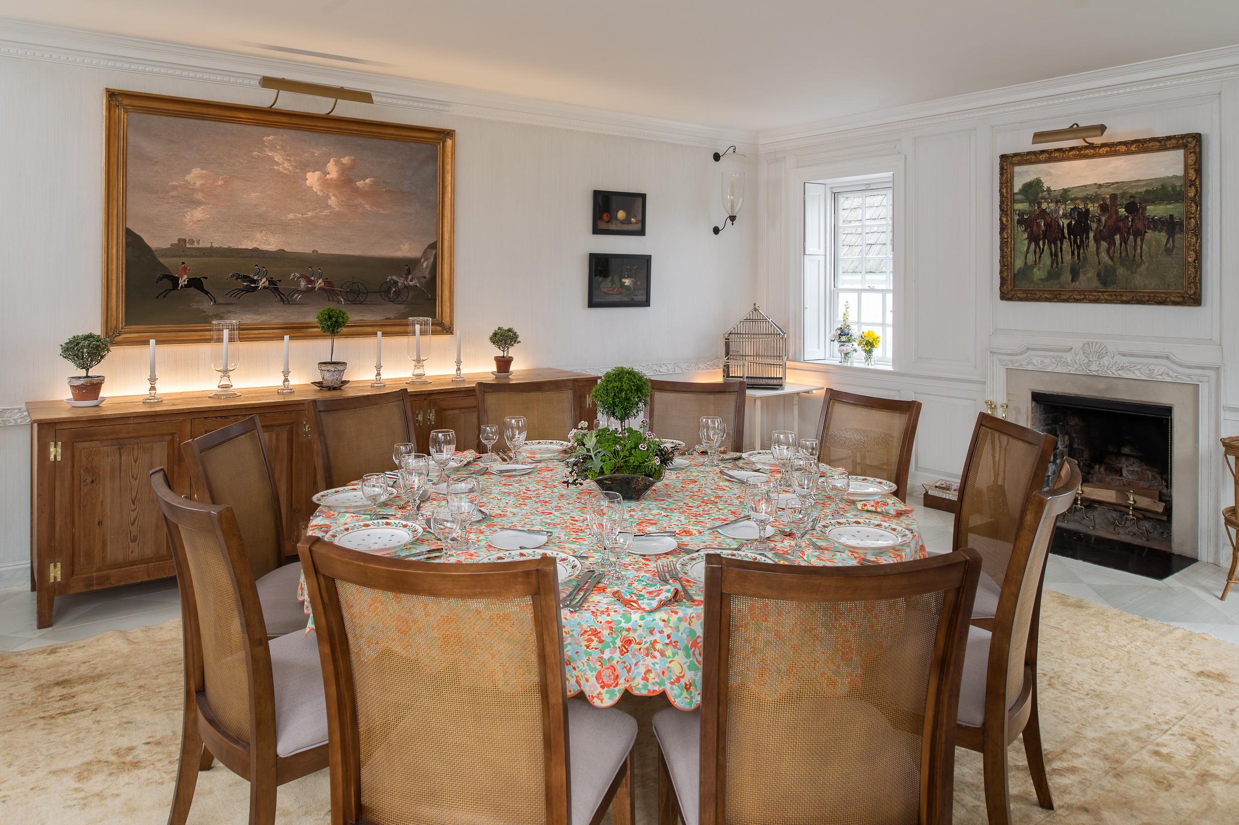 Mellon Residence Dining Room