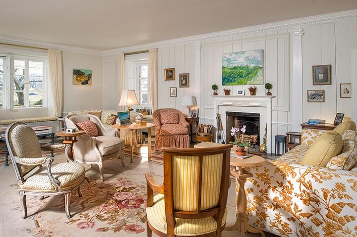 Mellon Residence Living Room