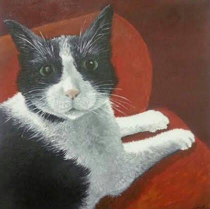 "Chakra  , Acrylic on Canvas, 24""x24"""